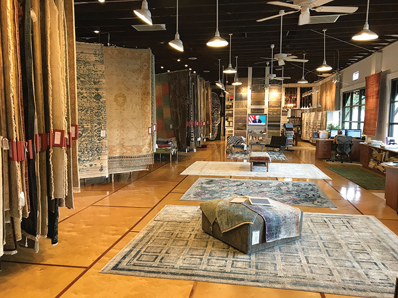 Fine Rugs of Charleston Showroom