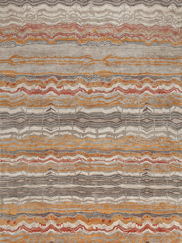 Patagonia Earth by New Moon | newmoonrugs.com­­