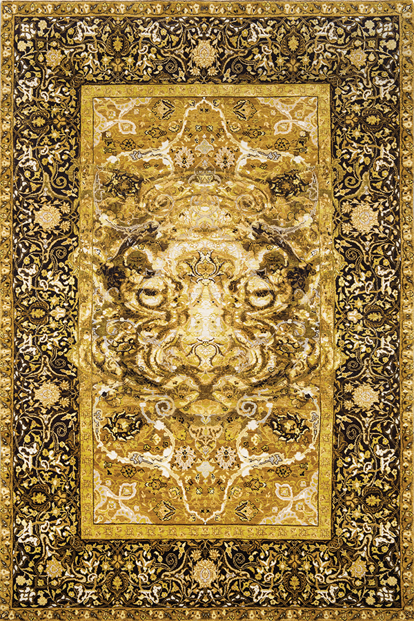 17th Century Modern Tiger by Knots Rugs | knotsrugs.com