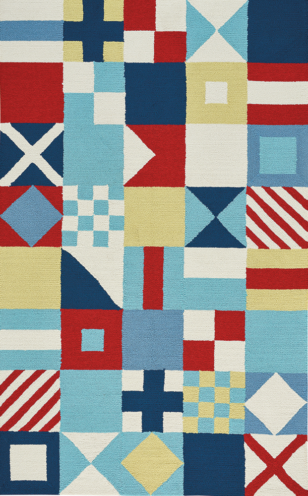 Anthony Baratta Flags Multi by Capel Rugs | capel.com