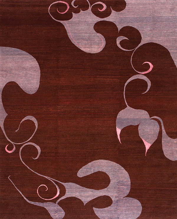 Campu in color Raisin by Odegard | odegardcarpets.com