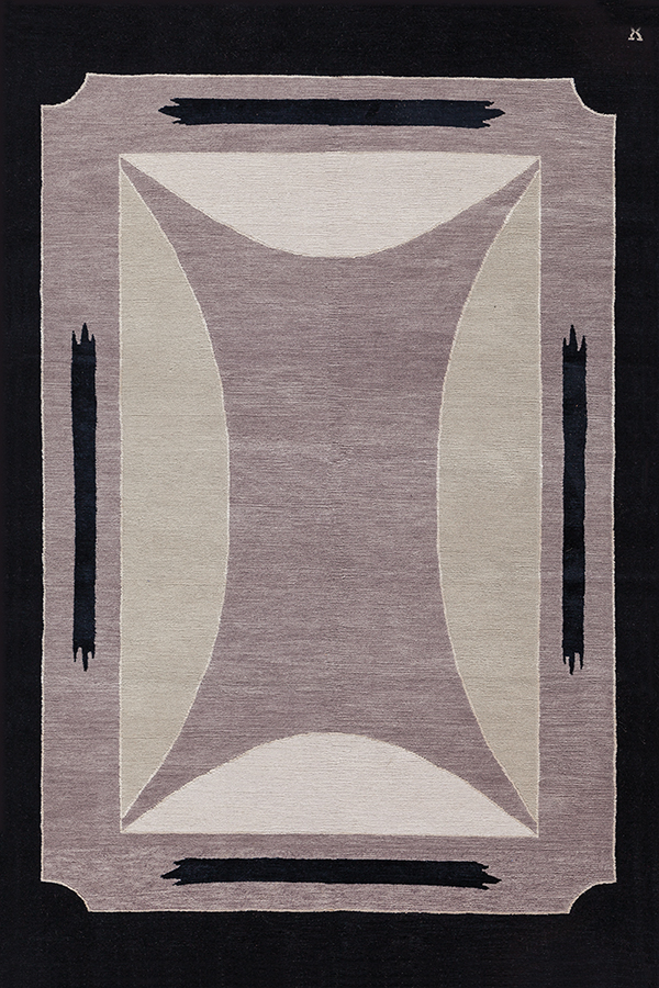 Toulon in Dusty Lavender by New Moon | newmoonrugs.com