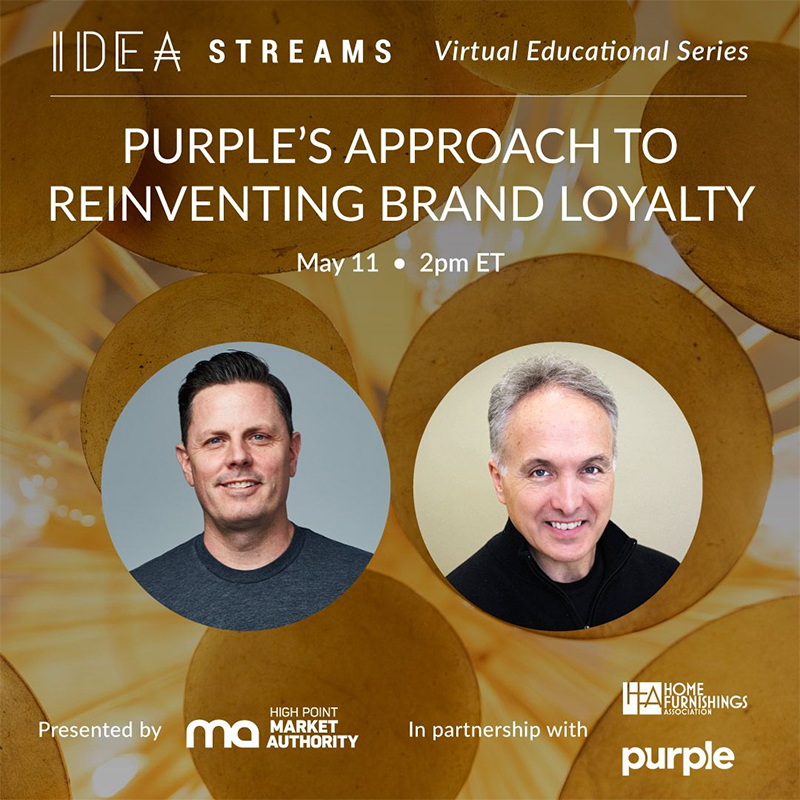 High Point Market Authority Idea Streams Virtual Educational Series