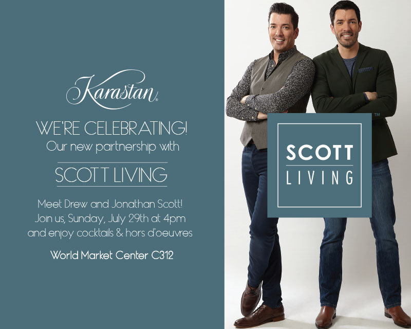 Karastan Partners with Scott Living