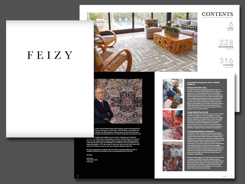 Feizy Launches New Catalog